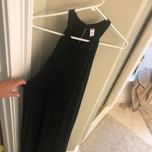 Old Navy long black tank dress